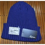 SPICE CLOTHING KNIT CAP NAVYBLUE